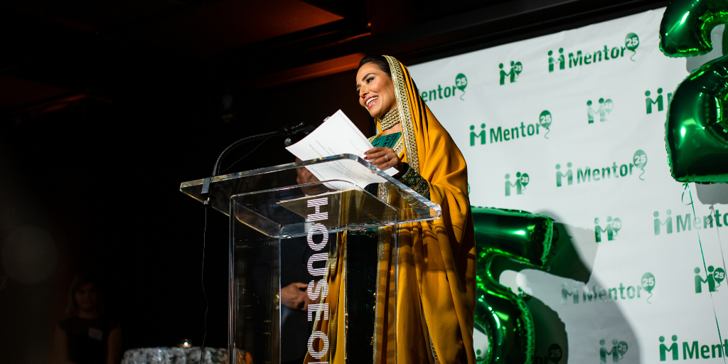 Her Highness Princess Sora Saud at Mentor International's 25th Anniversary Gala